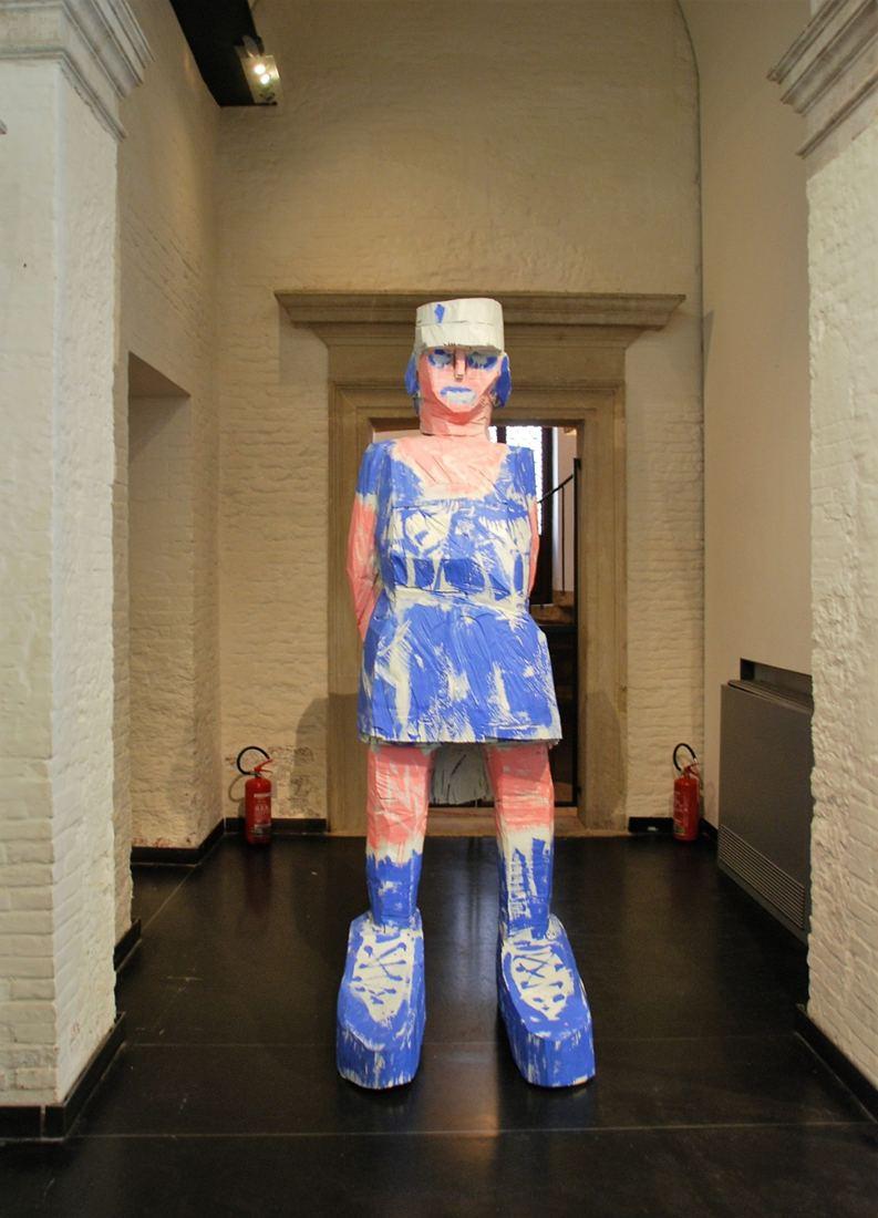 Georg Baselitz: Donna Via Venezia (2004). Foto: Moritz Niehues.