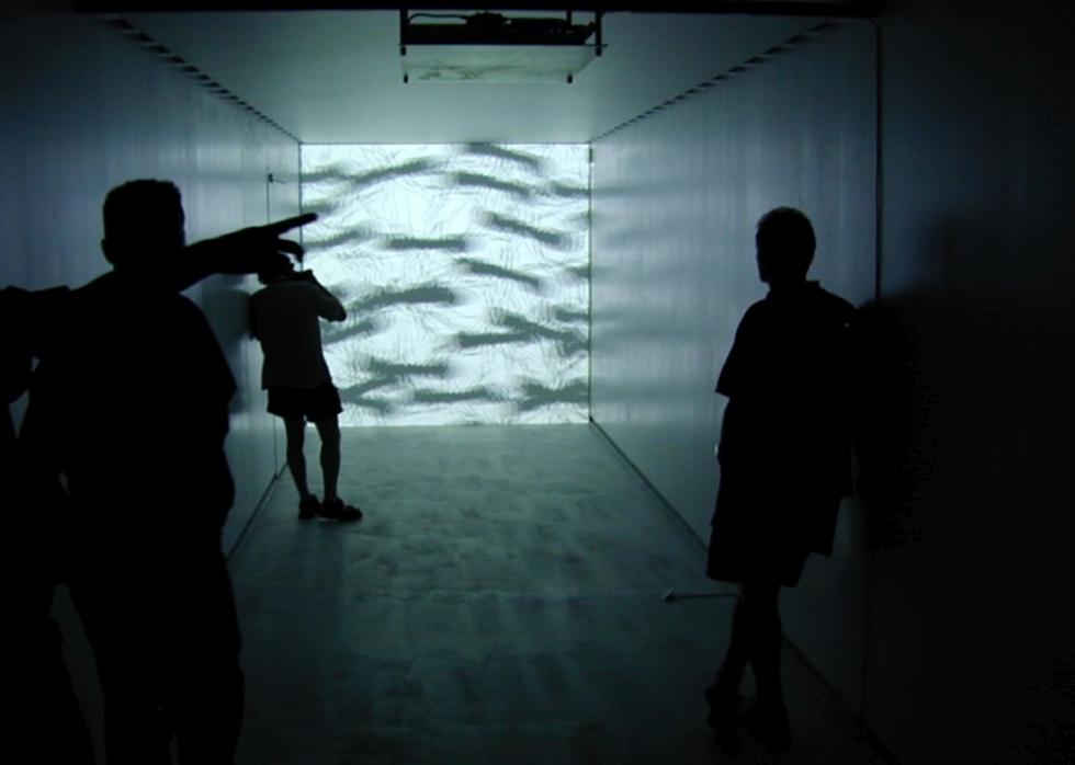 rheinflügel Baukunst: Kunsthaus Zug mobil (2014). Fotos: Christian Heuchel.