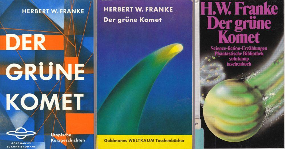 Cover von Der grüne Komet (1960). Copyright: space press.