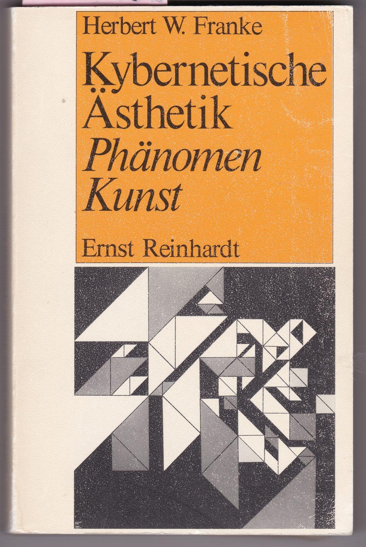 W. Franke: Kybernetische Ästhetik – Phänomen Kunst (1979). Foto: Bildarchiv space press.