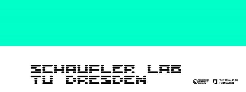 Logo Schaufler Lab@TU Dresden. Gestaltung: Happy Little Accidents, Leipzig.